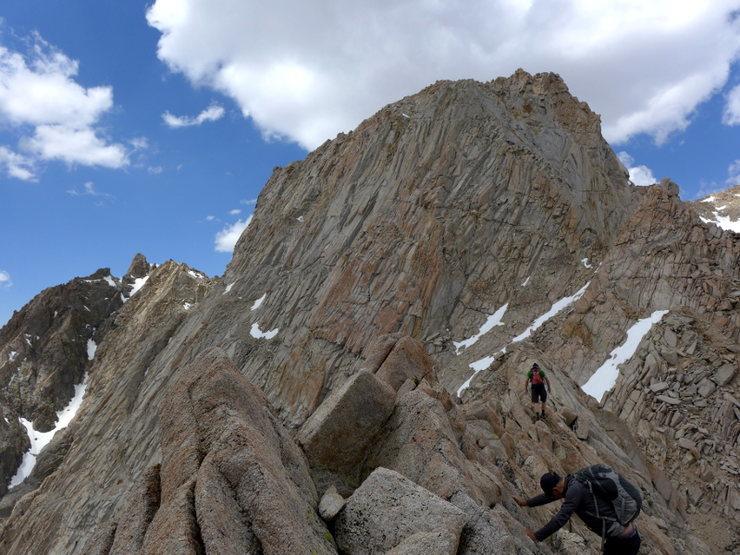fun ridge traversing