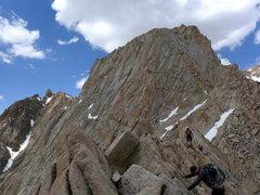 Rock Climbing Photo: fun ridge traversing