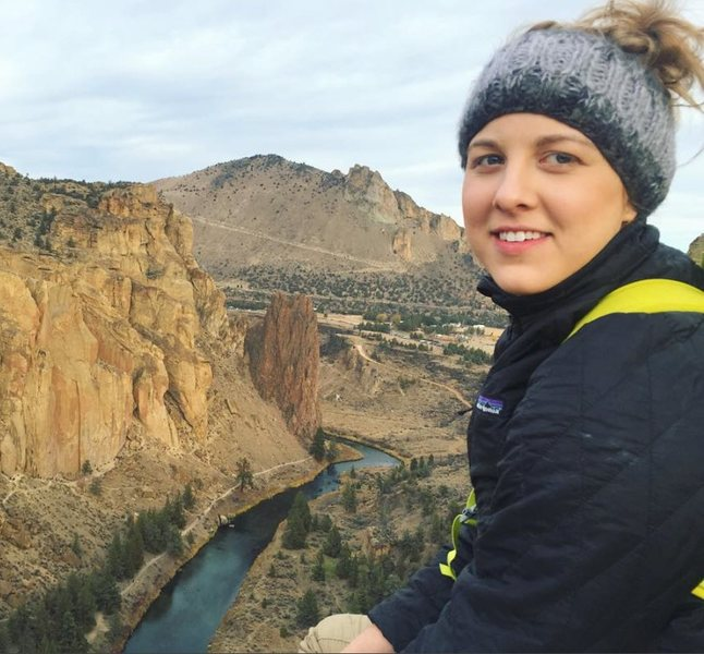 Rock Climbing Photo: on top of Wherever I May Roam in Smith Rock