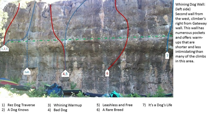 Whining Dog Wall@SEMICOLON@ left side.