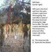 Rock Climbing Photo: NPR center right