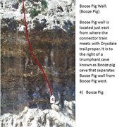 Rock Climbing Photo: Booze Pig