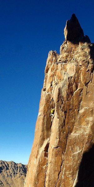 Rock Climbing Photo: Refugio Frey, Bariloche, Argentina