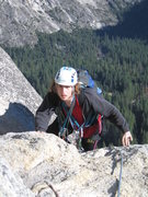 Rock Climbing Photo: My son Sascha Madrid on Royal Arches