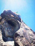 Rock Climbing Photo: Black Hole