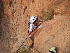 "Rock Climbing Photo: Tifegha 4, Abdul, a guide of ""Aventures verti..."