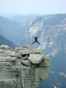 Rock Climbing Photo: first time hiking up half dome