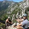 Belen, Howard, Fitz & that view!!