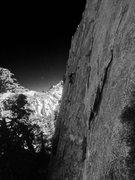 Rock Climbing Photo: Shoot the Moon on The Moon Dike!!
