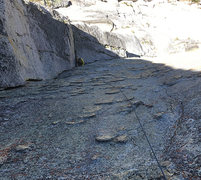 Rock Climbing Photo: Slung plates on P3 of Hobbit Book - psychological ...
