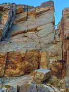 Rock Climbing Photo: The obvious arête is the second pitch of Viewmast...