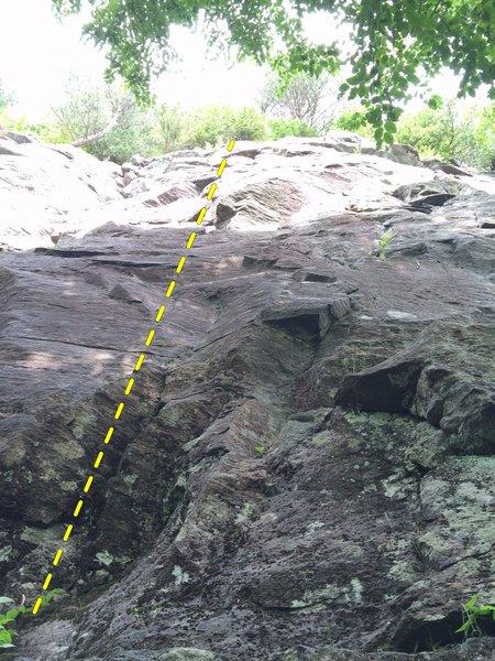 Rock Climbing Photo: Pirates de lair