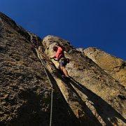 Rock Climbing Photo: Mike Arechiga on, Aqua Groovy.