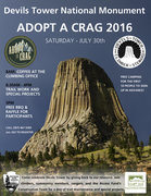 Rock Climbing Photo: 2016 Adopt A Crag Flyer