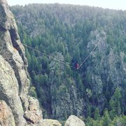 Rock Climbing Photo: upper dream canyon 730'