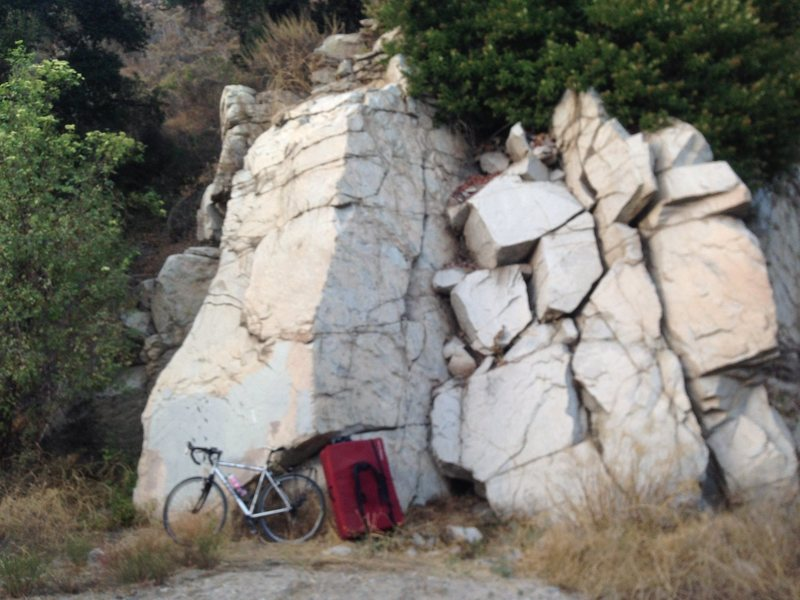 Rock Climbing Photo: Wall Boulder