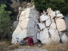 Rock Climbing Photo: Wall Boulder