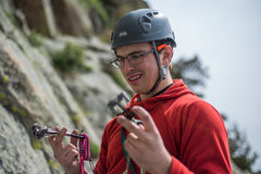 "Rock Climbing Photo: Trying to figure out what this ""trad climbing..."