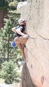 Rock Climbing Photo: Mike turned this dyno problem into a static proble...