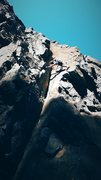 Rock Climbing Photo: Its my go to route at the Quarry. Super Fun dihedr...