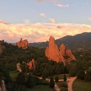 Rock Climbing Photo: Montezuma Tower, Three Graces, Easter Rock, and Ke...