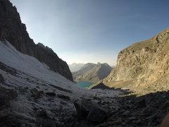 North Glacier Pass, Banner Peak