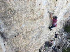 Rock Climbing Photo: Huck Yeah