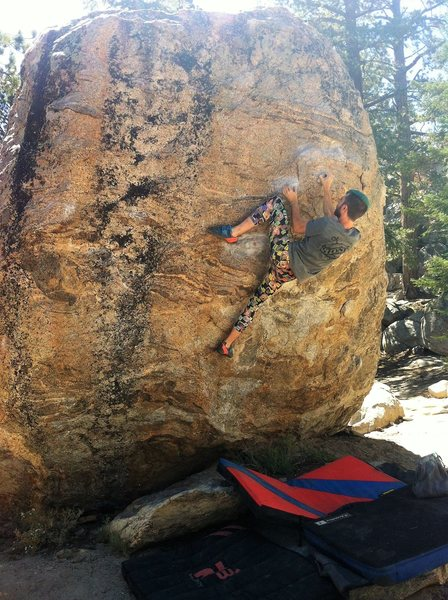 Rock Climbing Photo: Wonderful climb with reasonable holds, nice challe...