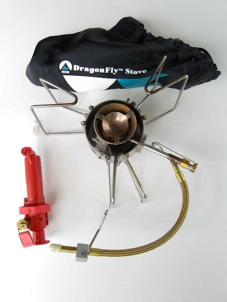 Rock Climbing Photo: MSR Dragonfly Stove