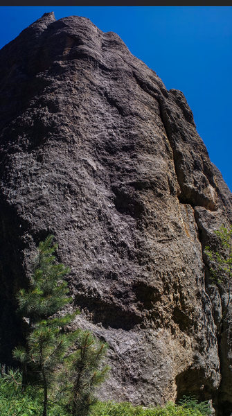 Rock Climbing Photo: obvious line