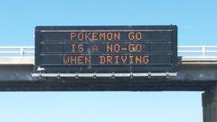 Rock Climbing Photo: Sign on a freeway.
