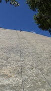 Rock Climbing Photo: Moonbeam Slab, Sweetwater Rocks, Granite Mts, Wyom...