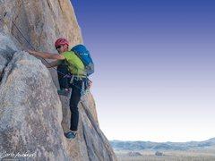 Rock Climbing Photo: climbing in Joshua Tree