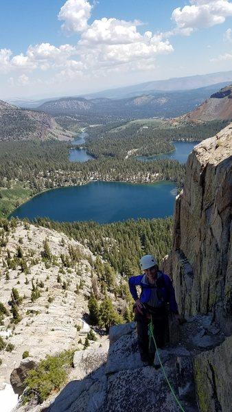 Rock Climbing Photo: Me on Crystal Crag