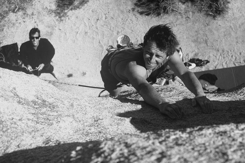 Rock Climbing Photo: John Stark belaying. Me on point. Fun route gets y...