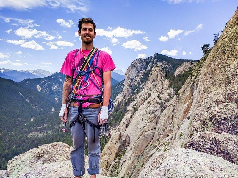 Rock Climbing Photo: Summit of Pears Buttress
