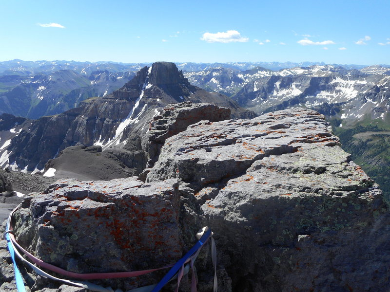 Rock Climbing Photo: Potosi, from the summit of Teakettle.