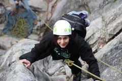 Rock Climbing Photo: When I dragged my mom up the gully. One of my favo...
