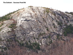 Rock Climbing Photo: The Outlook - Telephoto from the open field at the...