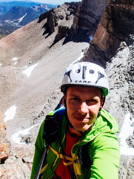 Rock Climbing Photo: Selfie on the Flying Buttress