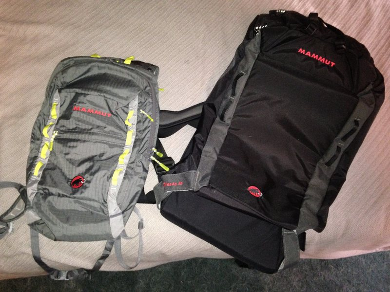 Mammut packs
