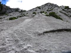 Rock Climbing Photo: the second pitch of Urban Bypass (Pitch 4 if doing...