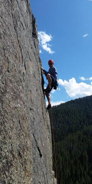 Rock Climbing Photo: FA, July/'16