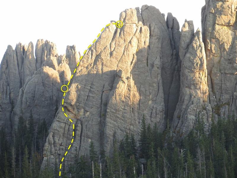 Rock Climbing Photo: East Rib