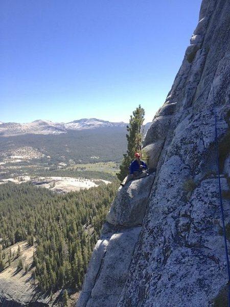 Rock Climbing Photo: Standard Route, Fairview Dome, Toulumne Meadows