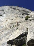Rock Climbing Photo: The Apron, Yosemite Valley