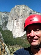 Rock Climbing Photo: El Cap from East Buttress, Middle Cathedral, Yosem...
