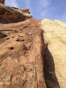 Rock Climbing Photo: Death By Chocolate, Sandstone Alps, Moab Ut