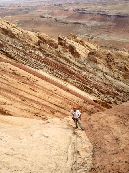 Rock Climbing Photo: San Rafael Swell, Moab UT