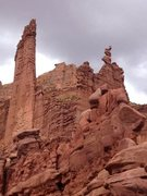 Ancient Art, Fisher Towers, UT
